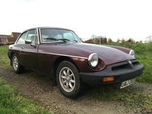 1977 MGB GT - Maroon/Electronic Ignition/Overdrive For Sale