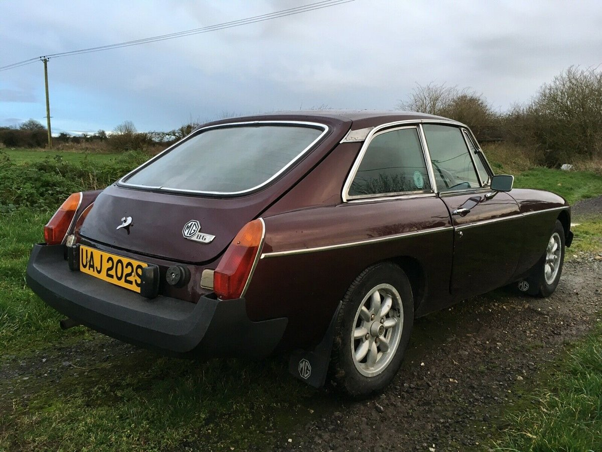 1977 MGB GT - Maroon/Electronic Ignition/Overdrive For Sale (picture 2 of 6)