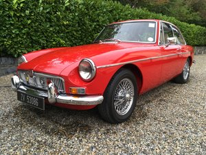1969 MGB GT 2+2 With Overdrive For Sale (picture 1 of 6)