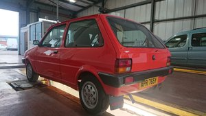 1982 MG Metro mk1 very early edition