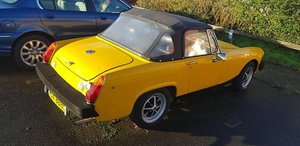 1978 mg midget 1500cc 27000 mls approx moted october 20