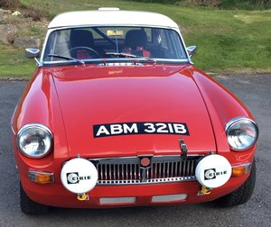 1964 MGB ROADSTER RALLY CAR  For Sale