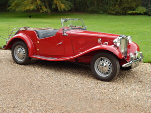 1952 MGTD  Superb Condition For Sale