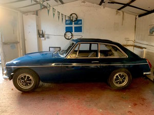 1972 MGB GT, OVERDRIVE, Webasto For Sale