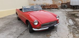 1969 MGB - red roadster
