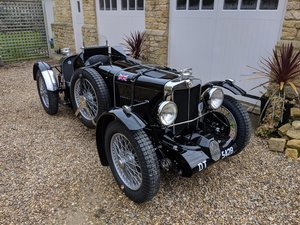 1934 MG PA Q-Type Gregory Body Rebuilt Engine Overdrive