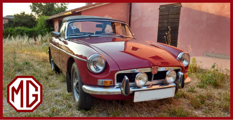 1972 MG B Roadster For Sale (picture 1 of 6)