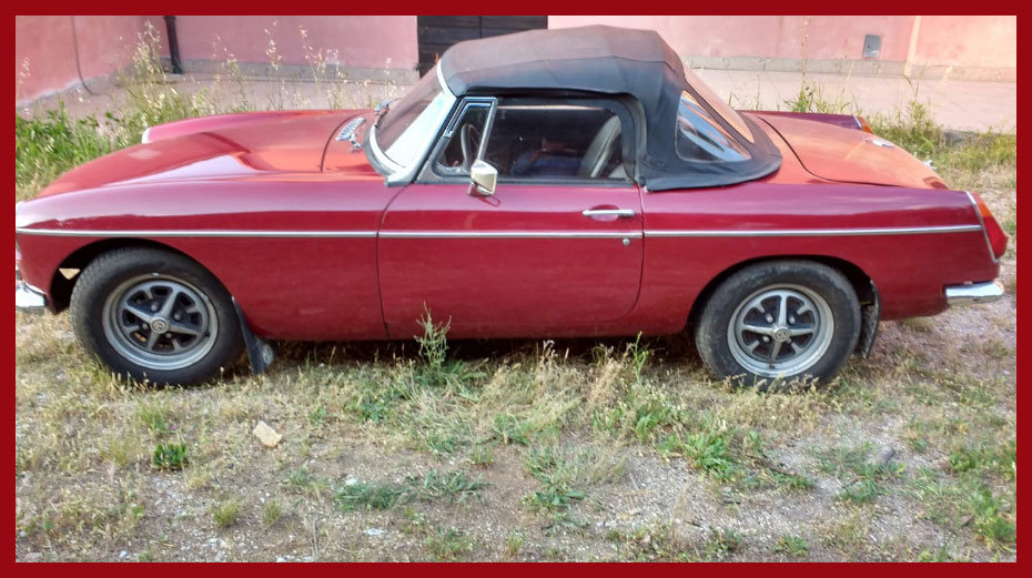 1972 MG B Roadster For Sale (picture 3 of 6)