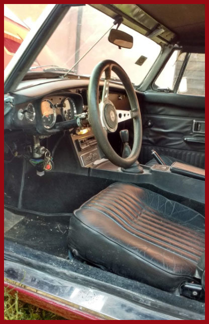 1972 MG B Roadster For Sale (picture 5 of 6)