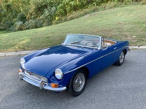 1968 MG MGB Roadster Convertible Restored Blue(~)Tan $17.9k For Sale