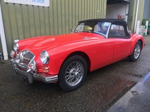 1962 MGA MKII Roadster. Supercharged & Stage II Engine 5 Spd 'Box For Sale