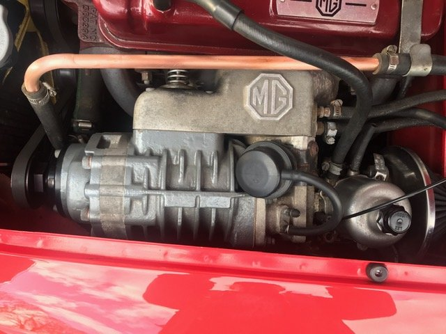 1962 MGA MKII Roadster. Supercharged & Stage II Engine 5 Spd 'Box For Sale (picture 5 of 6)