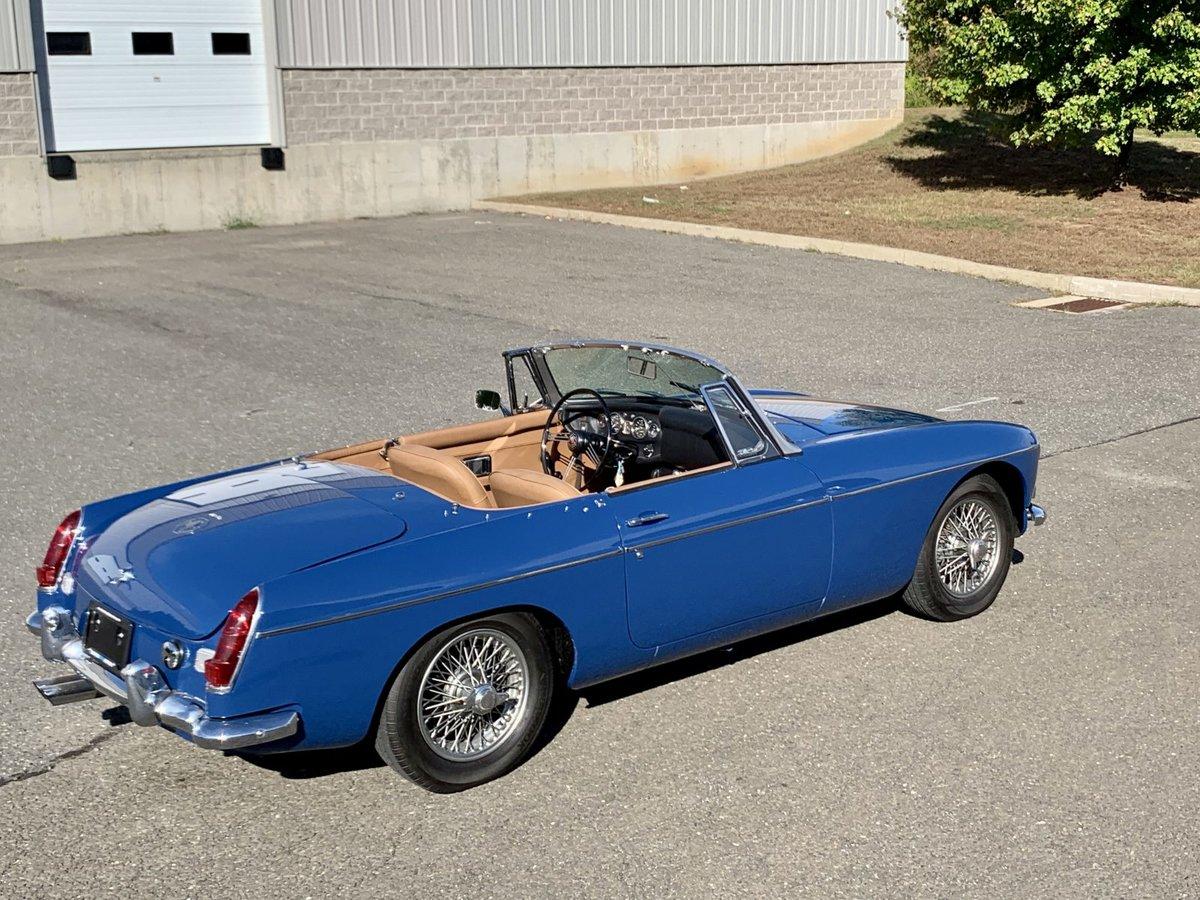 1968 MG MGB Roadster Convertible Restored Blue(~)Tan $17.9k For Sale (picture 2 of 6)