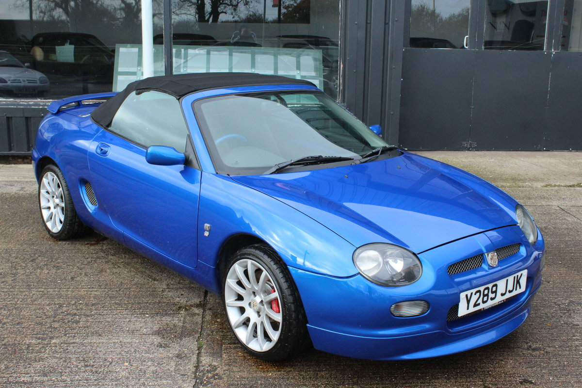 2001 MGF TROPHY 160, 79K MILES, NEW HEADGASKET,BELT&PUMP For Sale (picture 5 of 6)