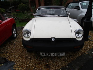 1978 MG B Roadster - Good Condition For Sale