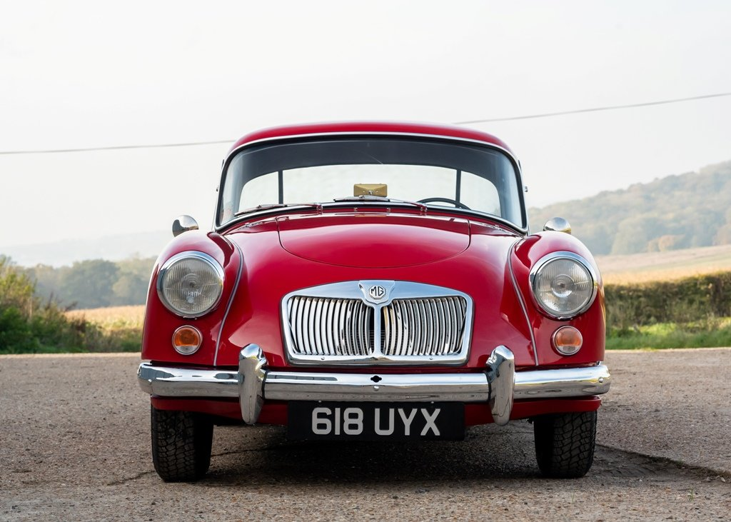 1961 MG A Mk. II Fixedhead Coup (1600cc) SOLD by Auction (picture 1 of 6)