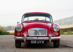 1961 MG A Mk. II Fixedhead Coup (1600cc) SOLD by Auction