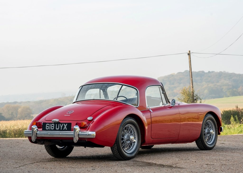 1961 MG A Mk. II Fixedhead Coup (1600cc) SOLD by Auction (picture 2 of 6)