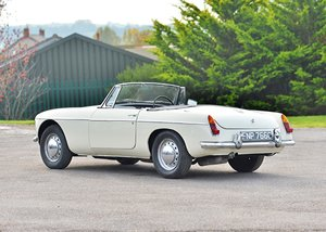 1965 MG B Roadster SOLD by Auction