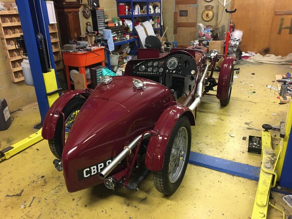 1936 Coming Soon - Fully Restored MG TA Pointed Tale Special For Sale (picture 3 of 6)