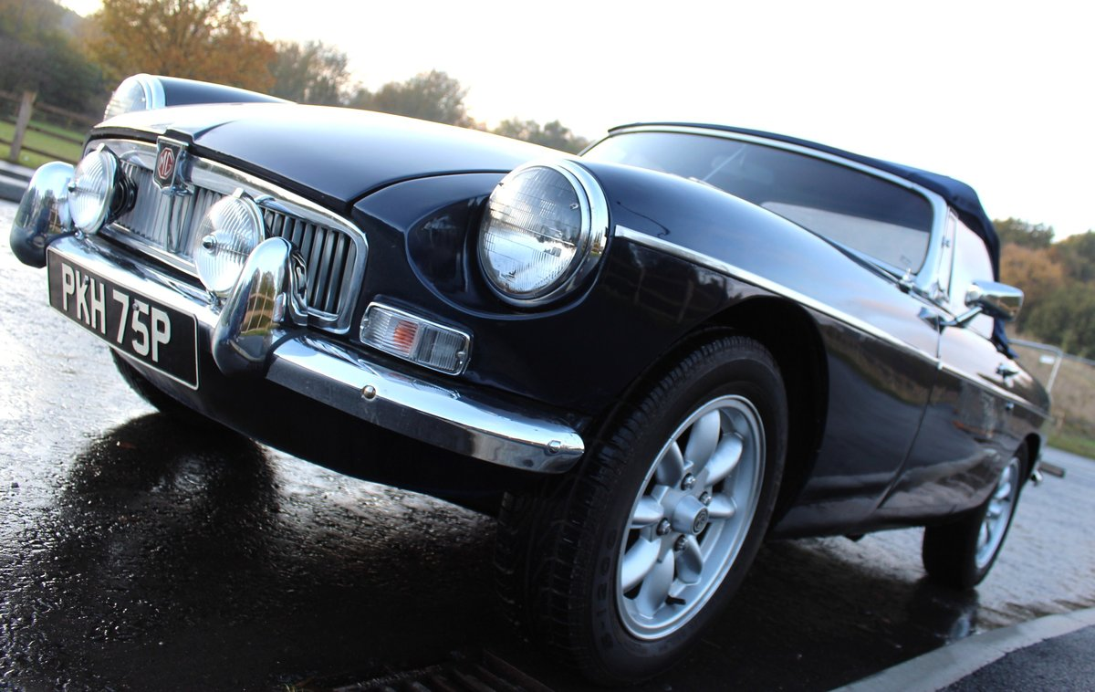 1976 MGB Roadster With Overdrive , Exceptional Condition For Sale (picture 2 of 6)