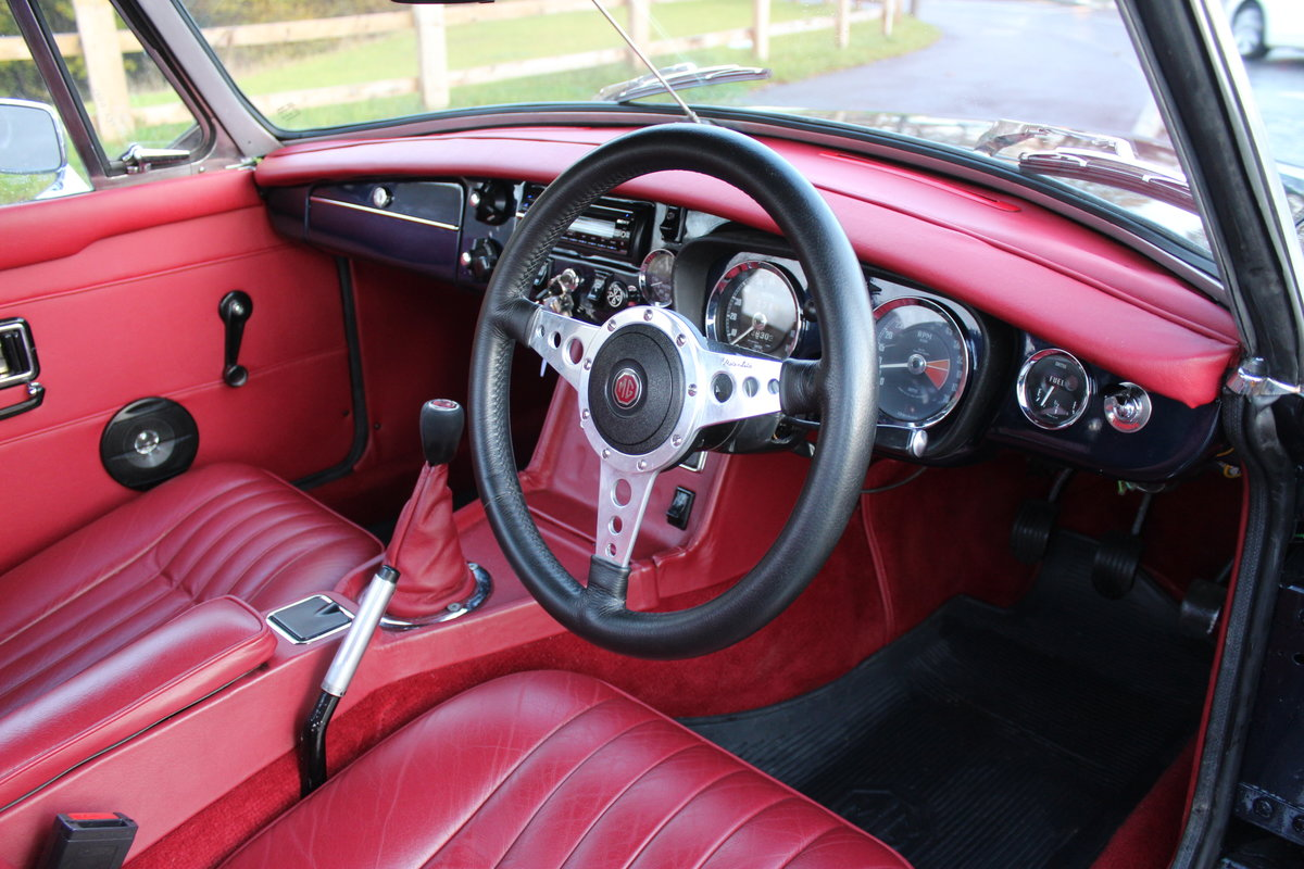 1976 MGB Roadster With Overdrive , Exceptional Condition SOLD (picture 5 of 6)