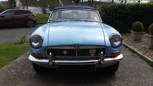 Picture of 1963 MGB mk 1  pull handle,