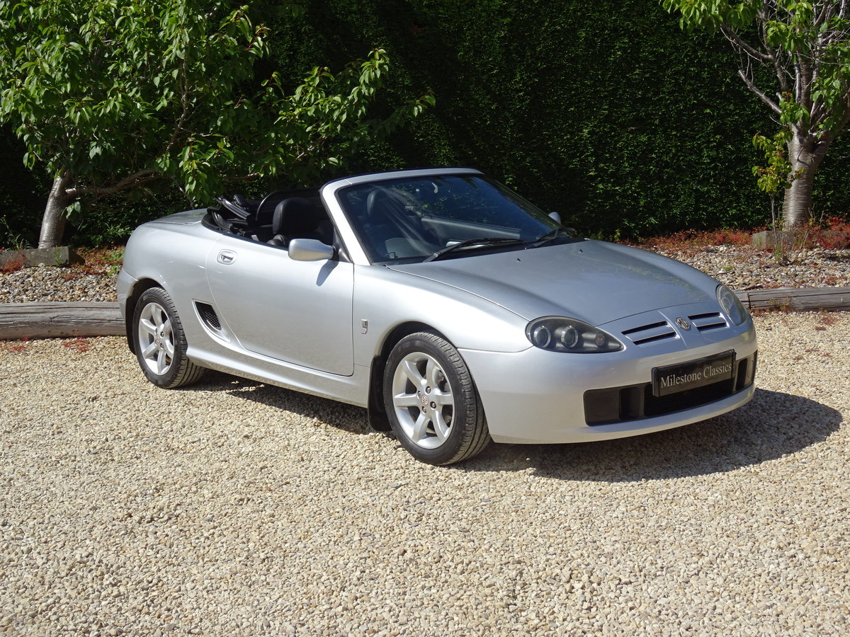 2003 MG TF 135 – FSH/Low Mileage/Matching Numbers  SOLD (picture 2 of 6)
