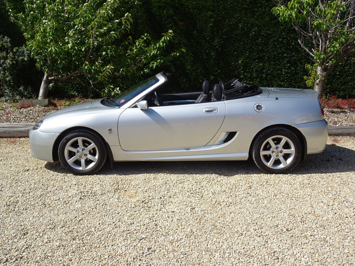 2003 MG TF 135 – FSH/Low Mileage/Matching Numbers  SOLD (picture 3 of 6)