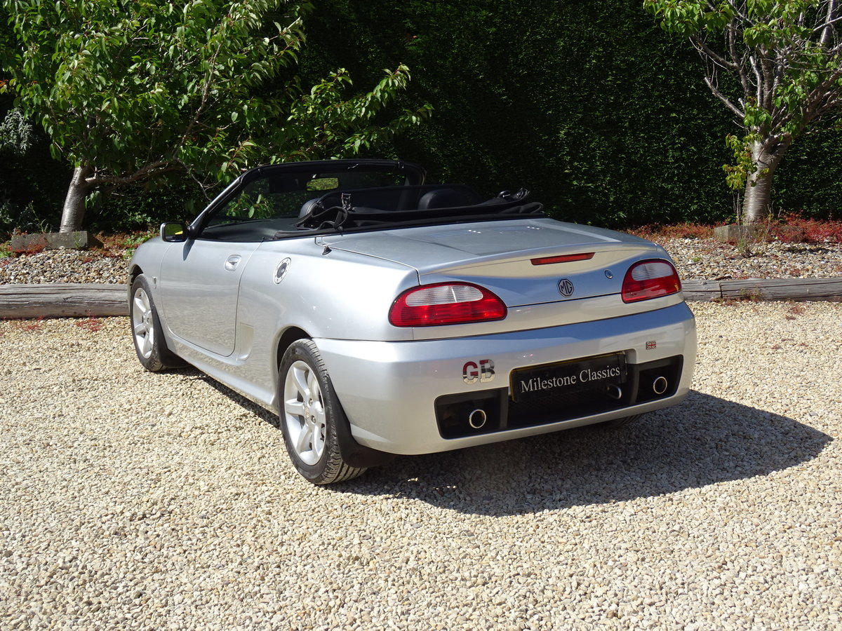 2003 MG TF 135 – FSH/Low Mileage/Matching Numbers  SOLD (picture 4 of 6)