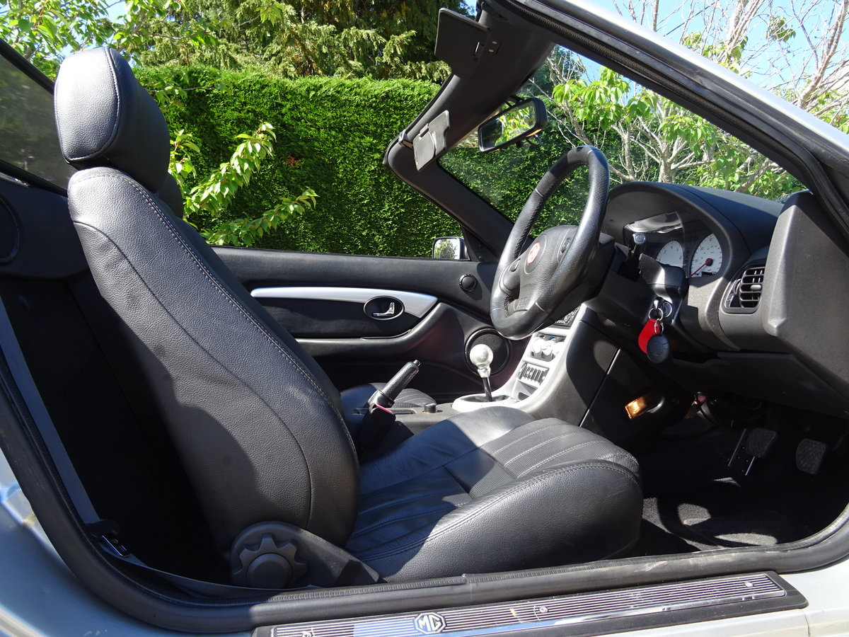 2003 MG TF 135 – FSH/Low Mileage/Matching Numbers  SOLD (picture 5 of 6)