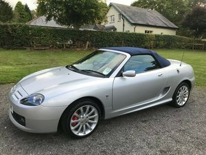 2004 MG TF SILVER/BLUE AUTO JUST 1100 MILES SIMPLY STUNNING! SOLD