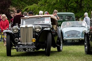 1949 MG TC Original Car with matching numbers