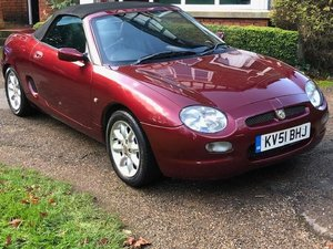 2001 MGF 1.8 Sports mot June 2020 s/history For Sale