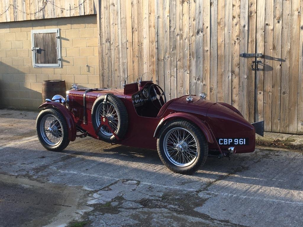 1936 Coming Soon - Fully Restored MG TA Pointed Tale Special For Sale (picture 6 of 6)