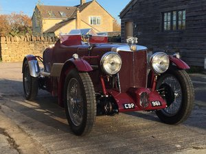 1936 Coming Soon - Fully Restored MG TA Pointed Tale Special