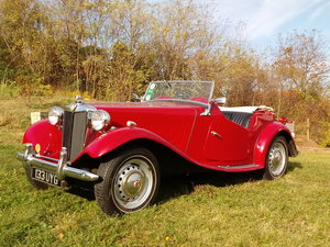 MG TD  Daily driver - Fully restored