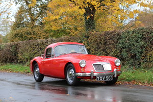1959 MGA 1600 Coupe - UK Car, Chassis Up Rebuild 2002-2008