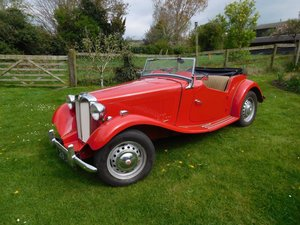 1950 MGTD - Great entry level TD For Sale by Auction