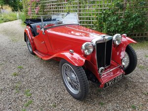 1949 MG TC - Fully restored For Sale