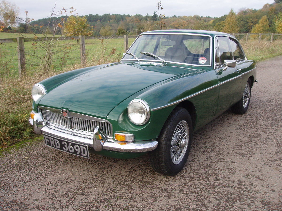 1966 MGB GT  Fast road  or Historic Road Rally SOLD (picture 1 of 6)