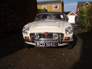 1969 MGC Roadster LHD For Sale