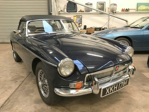 1969 MGB Roadster. Rebuilt with New Shell. For Sale