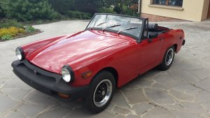 1976 MG Midget after restore