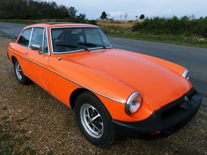 1978 MG BGT MGB GT Webesto Overdrive For Sale