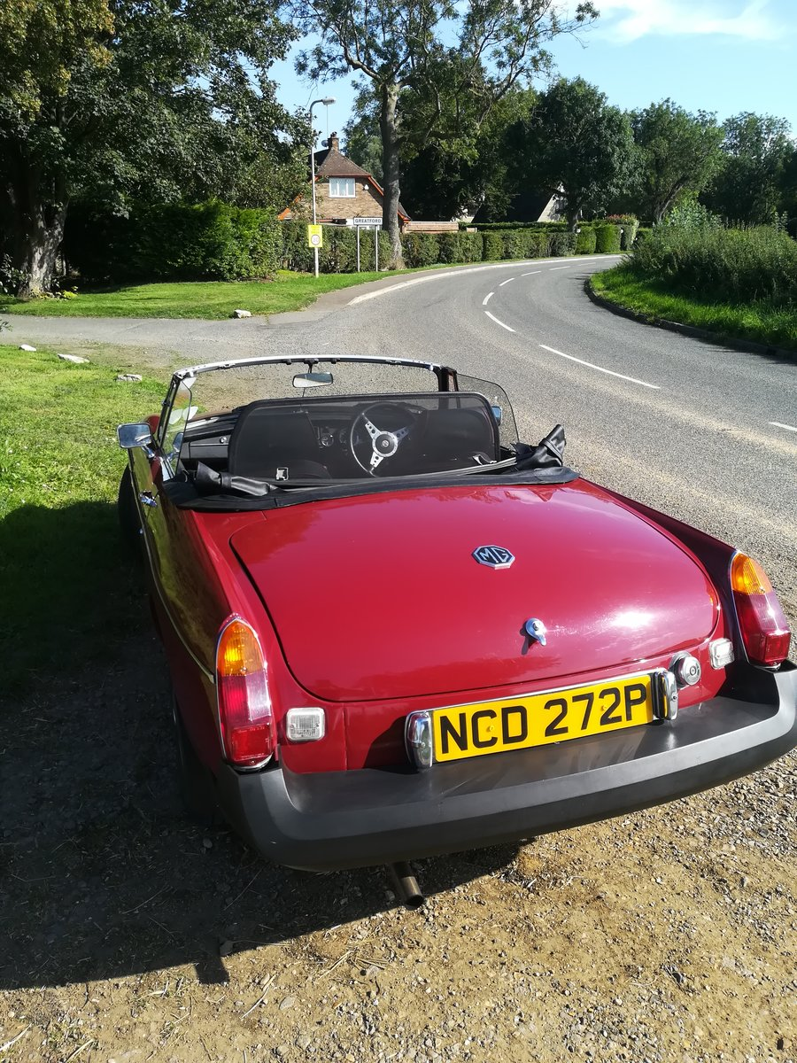 1976 MGB Roadster For Sale (picture 2 of 6)