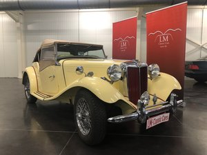 1952 MG-TD top condition For Sale