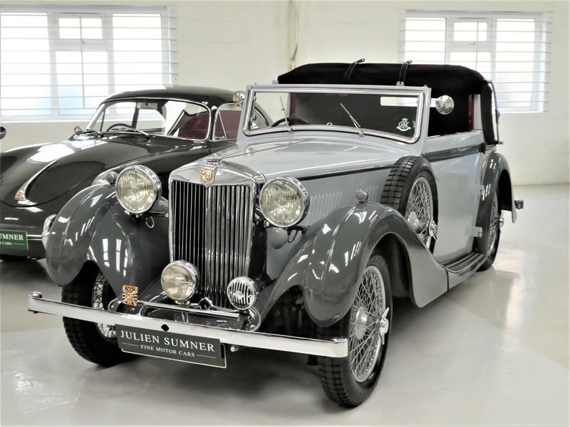 1938 MG VA Tickford Drophead Coupe SOLD (picture 1 of 6)