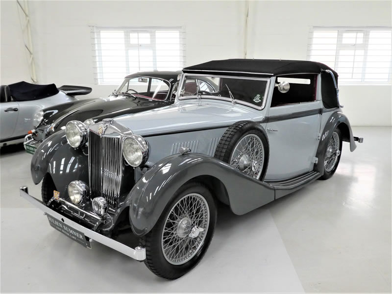 1938 MG VA Tickford Drophead Coupe SOLD (picture 2 of 6)
