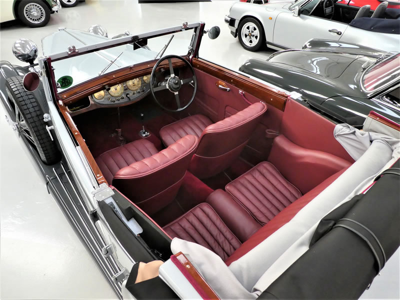 1938 MG VA Tickford Drophead Coupe SOLD (picture 5 of 6)